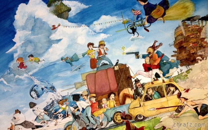 【弦觉】《宫崎骏动画作品》蓝光合集及动画原声-张弦先生-chrafz.com