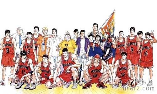 【chrafz动漫】《灌篮高手》(Slam Dunk)TV版+剧场版4部+特典2部+漫画全集