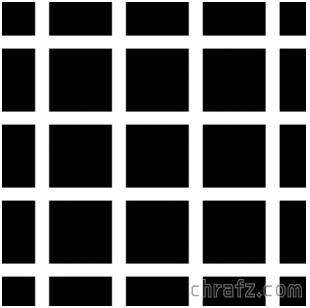 【知说】什么是Hermann Grid 赫尔曼栅格错觉?-张弦先生-chrafz.com