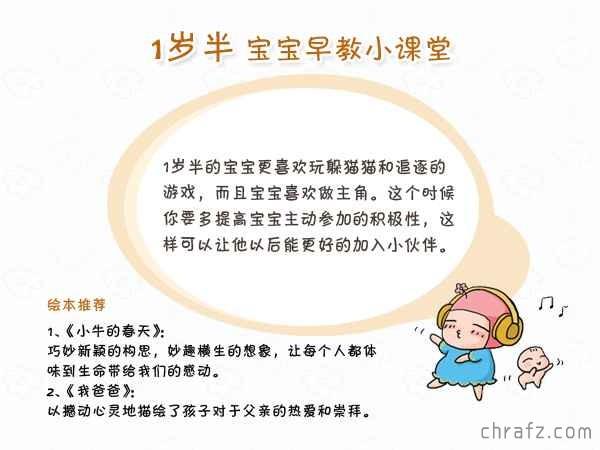 【知说·宝宝篇】chrafz带你看宝宝1岁半发育指南