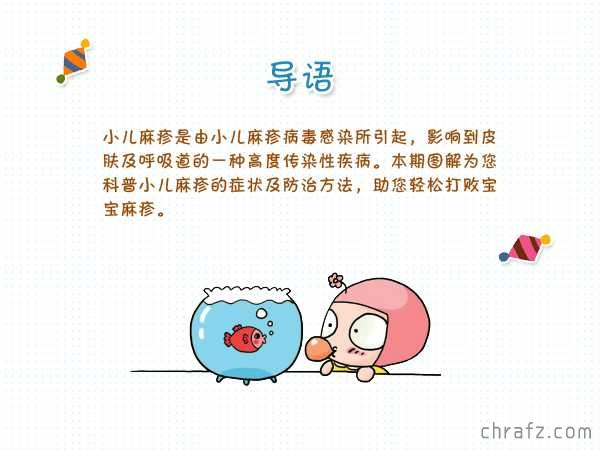 【知说·宝宝篇】小儿麻疹知识大科普-张弦先生-chrafz.com