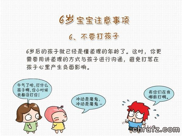 【知说·宝宝篇】chrafz带你看宝宝6岁发育指南-张弦先生-chrafz.com