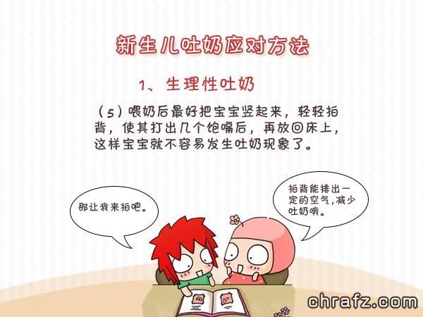 【知说·宝宝篇】chrafz告诉你新生儿吐奶该怎么办-张弦先生-chrafz.com