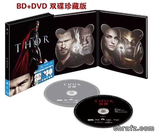 【chrafz电影】《雷神》1-2蓝光3D珍藏版2011-2013.BluRay