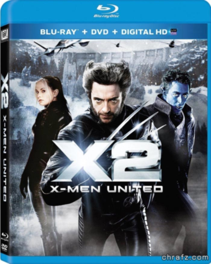 【chrafz电影】X战警正传三部曲X-Men 2000-2006 BluRay