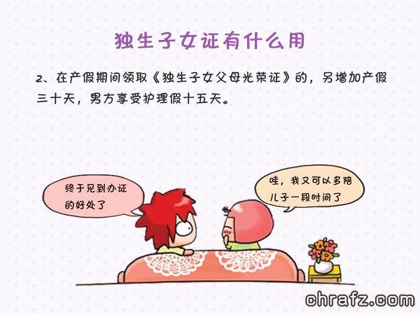【知说·宝宝篇】chrafz教你怎么办理独生子女证
