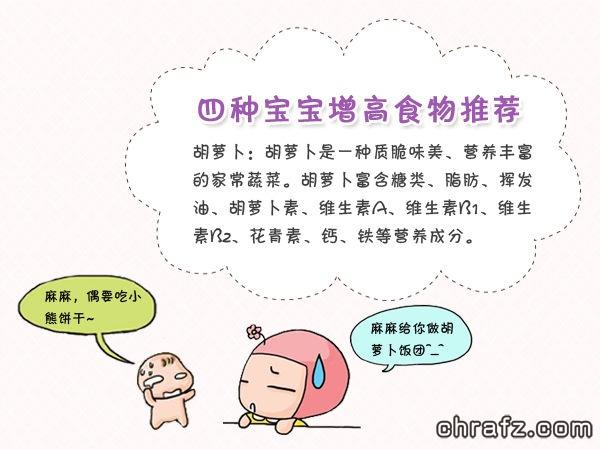 【知说·宝宝篇】chrafz教你如何让宝宝快速长高