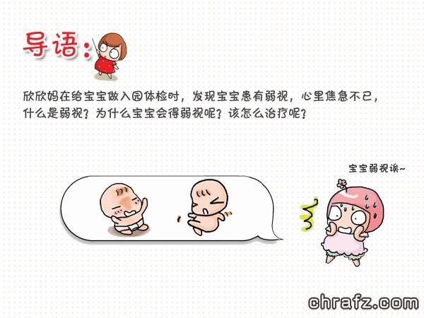 【知说·宝宝篇】chrafz宝宝有弱视怎么办