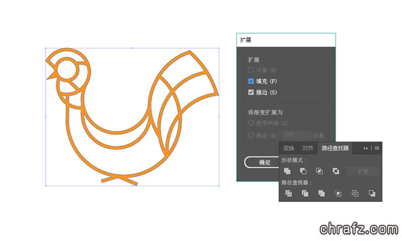 chrafz教你学会运用黄金分割绘制图形-AI设计教程-张弦先生-chrafz.com