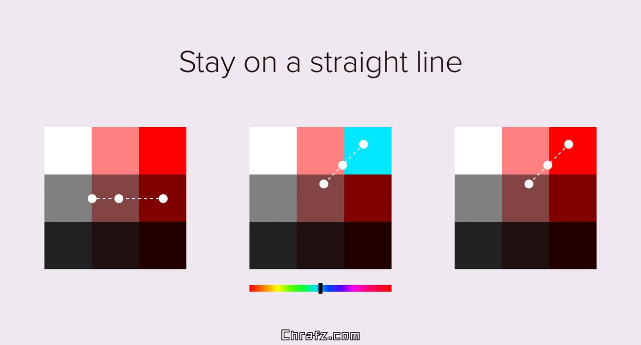 关于配色的一些有趣且有用的小技巧-张弦先生-chrafz.com