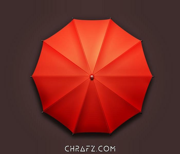 怎么样快速绘制一把雨伞-PS教程