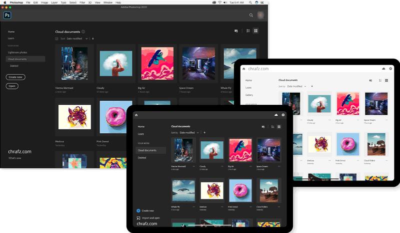 苹果图像软件Adobe Photoshop 2020 for Mac 直装破解版-设计软件