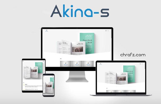 Akina-s一款极简的WORDPRESS主题-张弦先生-chrafz.com