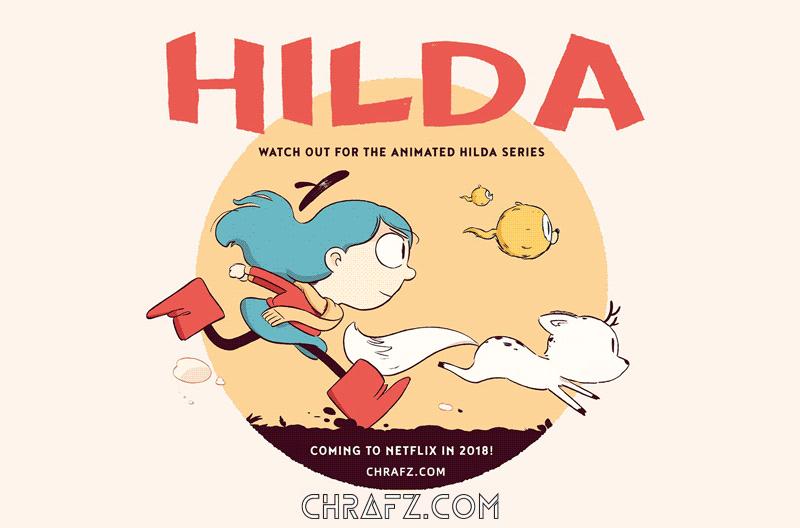 Netflix原创动画剧集《希尔达》 Hilda【国语中字】